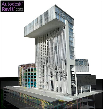 一体化建筑设计 autodesk revit v2013 windows 32bit 64bit