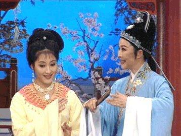 颜美人和方公子  方雪雯,女,越剧一级演员.浙江临海人,1966...