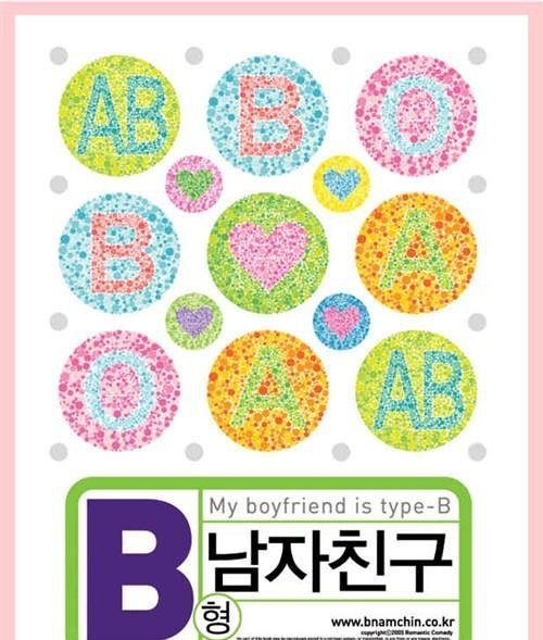 B型男友 My Boyfriend Is Type B