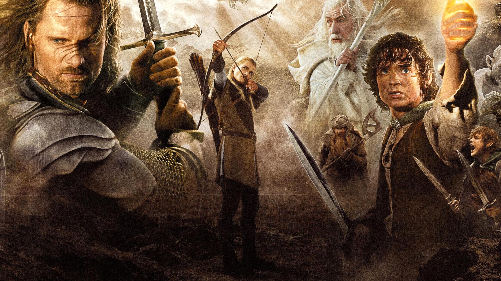 魔戒3 王者归来图片
