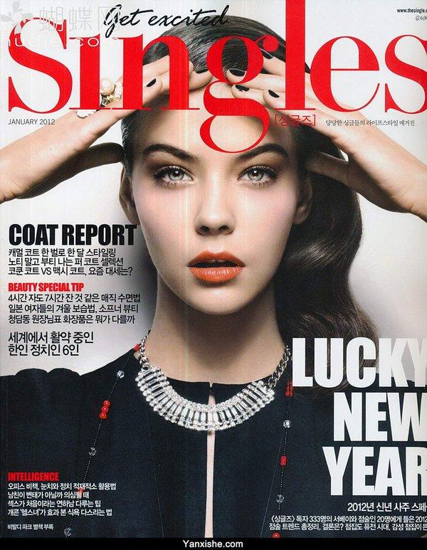 《《singles》ol时尚系列韩文杂志更新至---每月闪电更新》(singles)