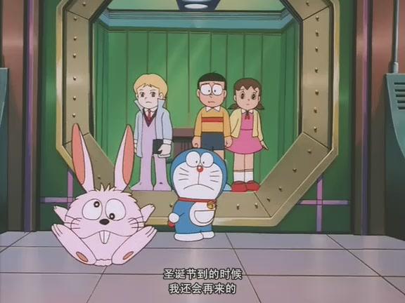 哆啦A梦 大雄与白金迷宫图片