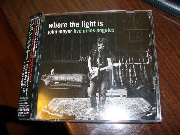 John Mayer Where The Light Is John Mayer Live In Los Angeles Japan Bouns Ape Ed2k