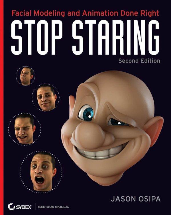动画表情书籍-Stop Staring 第三版 含前两版及项目文件