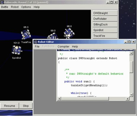 001_【西安领航_何足道】_Java入门项目课程_Robocode简介及创建第一个机器人   avi [p1]