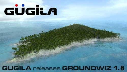 《3DSMAX地形自然景观生成插件》(GUGILA GROUNDWIZ) V1.8 FOR 3DSMAX[压缩包]