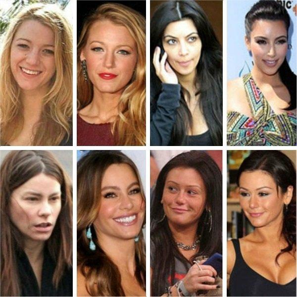 信不信由你,即使是最耀眼的明星也不愿意卸下唇彩和睫毛膏,哪怕只是一小会。因为让他们绝望的是,无节操的狗仔队们最爱拍摄他们不那么光鲜亮丽的模样。当然还是有很多年轻演员笑到了最后,卸下繁杂的妆容,他们看起来更加美丽! 下面是十大女星的素颜上妆对比图。谁才是真正的天生丽质?做出你的选择吧!  安妮海瑟薇(Anne Hathaway):魔女不化妆 对于安妮来说,保持美丽就是如此容易。作为《蝙蝠侠》(Batman)电影中的新任猫女(catwoman),安妮无论化妆与否都是魅力十足。右侧照片摄于2011年8月24日,