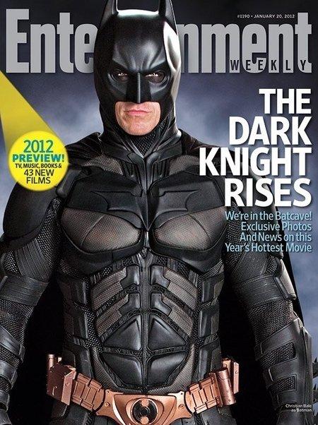 蝙蝠侠登上新一期《娱乐周刊》封面