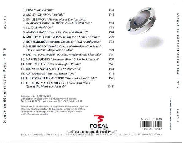 Focal No 6 Spirit Of Sound ☆法国劲浪☆ 铍高音至尊乌托邦 示范CD
