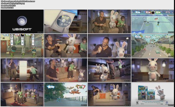 雷曼疯狂兔危机系列高清宣传片