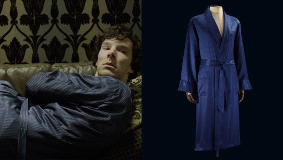 DRESSING GOWN (SHERLOCK HOLMES) 品牌:Derek Rose 价格:£279.99