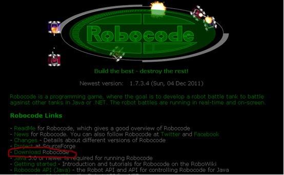 001_【西安领航_何足道】_Java入门项目课程_Robocode简介及创建第一个机器人   avi [p4]
