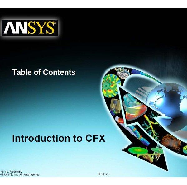 官方ANSYS ICEM CFD12/CFX培训教程 实例练习