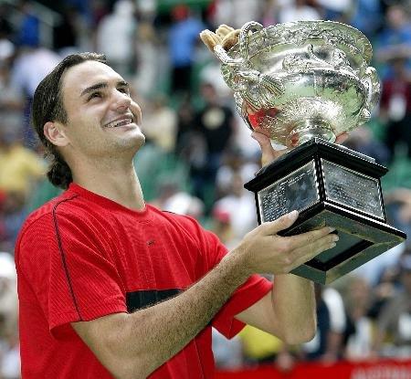 2004年澳网决赛 费德勒VS萨芬