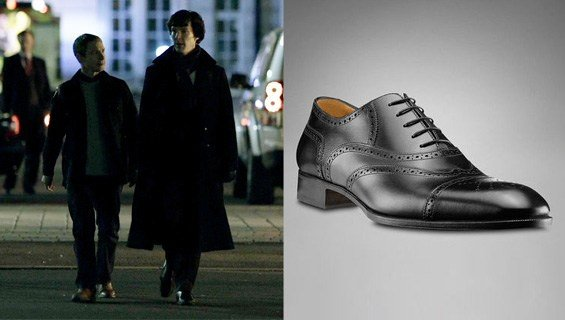 SHOES (SHERLOCK HOLMES) 品牌:Yves Saint Laurent doubled with Poste and TK Maxx 价格:£500.00