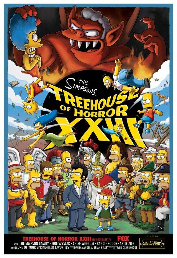 辛普森一家 第二十四季 Simpsons 24 内嵌字幕中英双语版