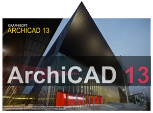 ArchiCAD 13 官方简体中文版32位 amp 64位