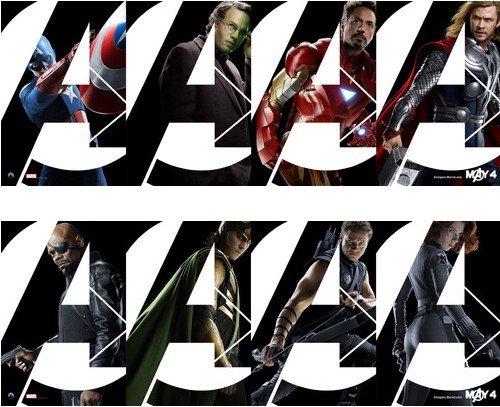 《复仇者联盟》全新横版海报曝光 八大主角齐亮相(附:独家剖析《美国队长》贴片预告)