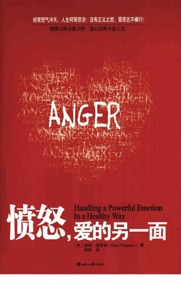 《愤怒,爱的另一面》PDF图书免费下载