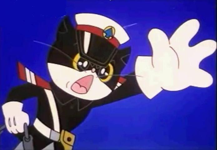 黑猫警长 - 动漫图片 |