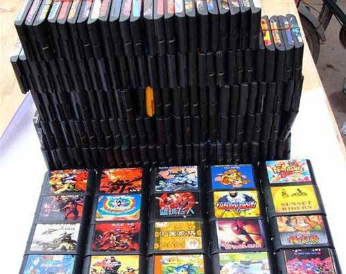 世嘉MD全集 5871个游戏 含模拟器
