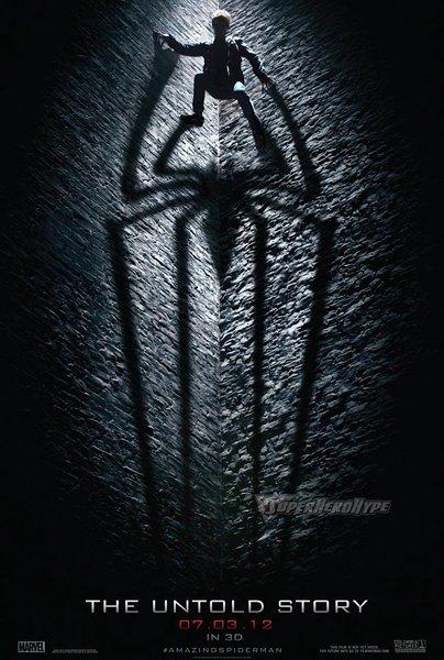 索尼新版《蜘蛛侠》新海报曝光 首次加入主角形象