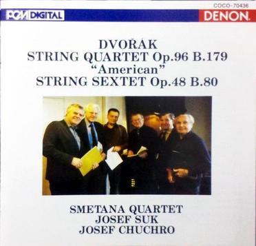 小约瑟夫苏克 斯美塔那四重奏 德沃夏克第12弦乐4重奏,弦...