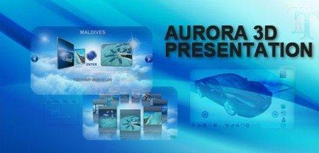 《3D立体互动节目、视频和多媒体创作软件》(Aurora 3D Presentation 2011 )v12.02.06[压缩包]