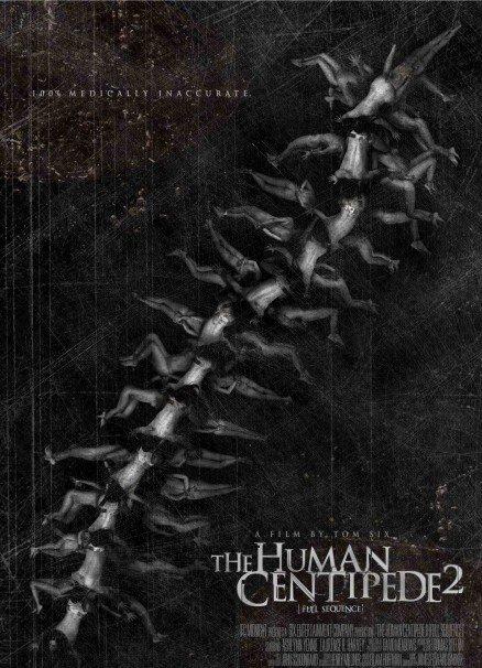 《人体蜈蚣2》首款海报&最新剧照曝光:美女落入变态之