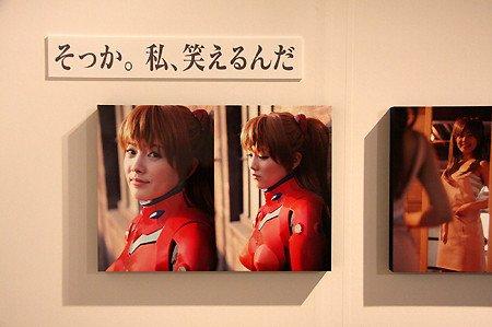 《新世纪福音战士x美少女写真展》三次元与二次元软