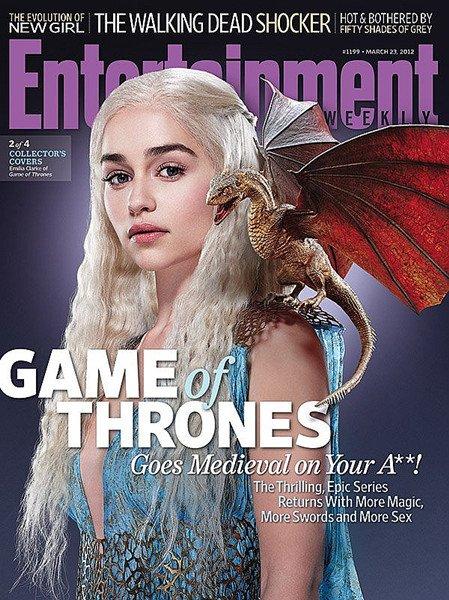 《权力的游戏》(Game of Thrones)《娱乐周刊》(EW)封面