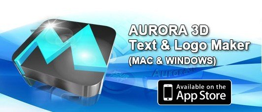 《3D文字/标志/按钮制作软件》(Aurora 3D Text and Logo Maker )v12.02.09[压缩包]
