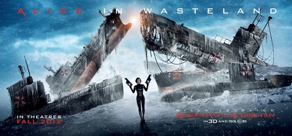 《生化危机5》(Resident Evil: Retribution)曝新海报 爱丽丝踏上杀戮之旅