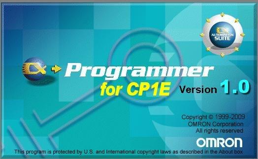 OMRON CP1E PLC专用编程软件 CX-Programmer for CP1E 简体中文版
