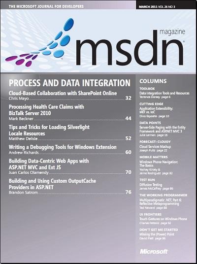 MSDN Magazine