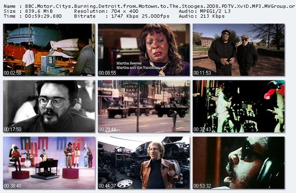 BBC 底特律:从Motown到傀儡乐队