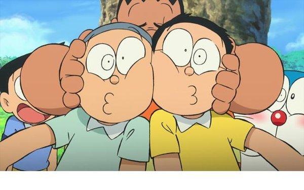 哆啦A梦 大雄与奇迹之岛 动物历险记图片