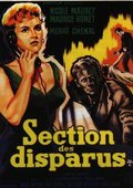 Section des disparus 海报