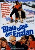 Blau blüht der Enzian 海报