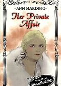 Her Private Affair 海报