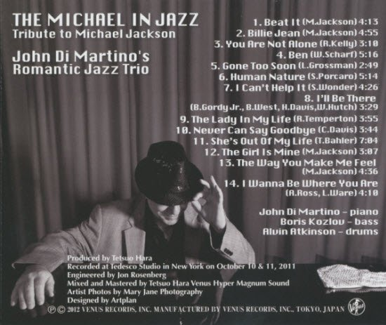 recording for the japanese venus label with his romantic jazz