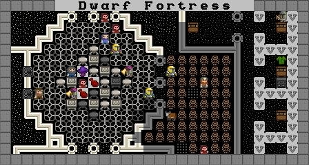 矮人要塞3dsmax室内效果图v要塞实例技法详解图片