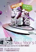 湖南卫视2011-2012温暖跨年演唱会 海报