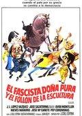 El fascista, doña Pura y el follón de la escultura 海报