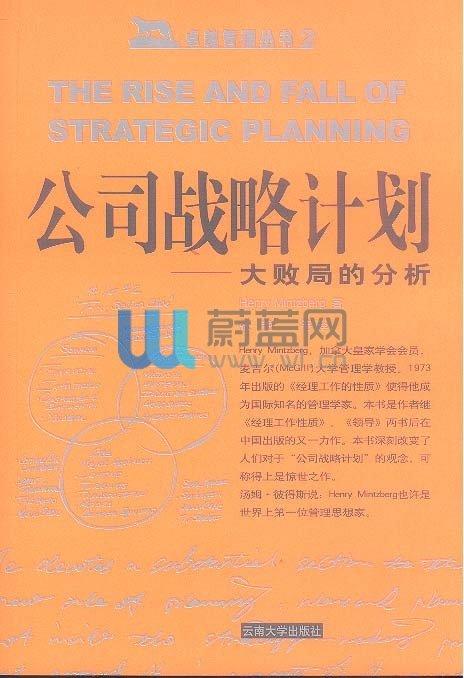 《公司战略计划:大败局的分析》扫描版[PDF]
