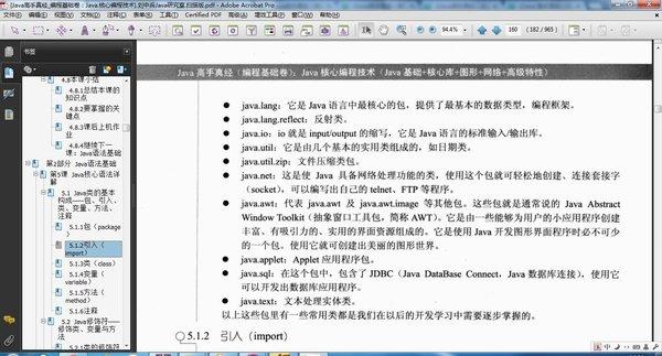 index of vocabulaire java pdf