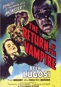 The Return of the Vampire 海报