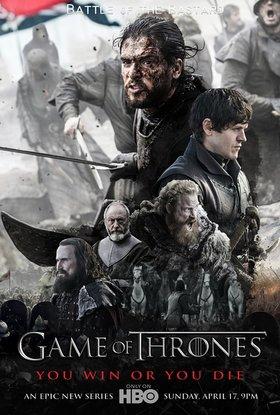 权力的游戏 第六季海报