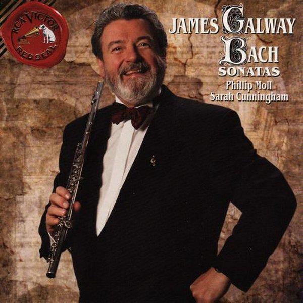 詹姆斯·高威 james galway -《巴赫:长笛奏鸣曲》(bach: flute