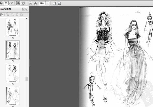 曾出版:《完全绘本一服装设计手绘效果图步骤详解》